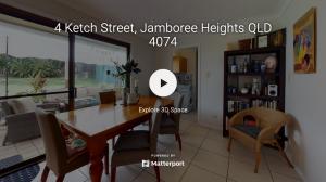4 Ketch Street, Jamboree Heights, Qld 4074 Floorplan 3D Walkthrough
